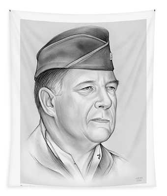 General Chuck Horner Tapestry