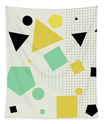 Geometric Painting 7  Tapestry