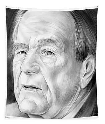 George Hw Bush 1924 - 2018 Tapestry