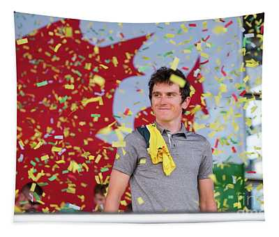 Geraint Thomas, Welsh Cyclist, Winner Of The 2018 Tour De France, Tapestry
