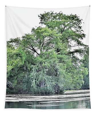 Giant River Tree Tapestry