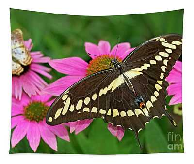 Giant Swallowtail Papilo Cresphontes Tapestry