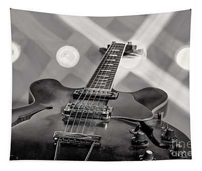 Gibson Guitar Image Canvas Print 1744.26 Tapestry