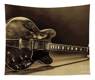 Gibson Guitar Images On Stage 1744.015 Tapestry