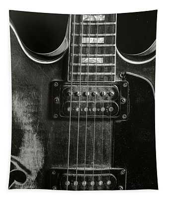 Gibson Guitar Metal Wall Art 1744.28 Tapestry