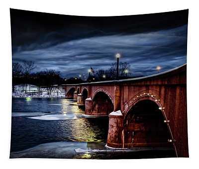 Gillett Bridge Grand Rapids Michigan Tapestry