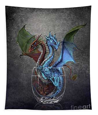 Gin And Tonic Dragon Tapestry