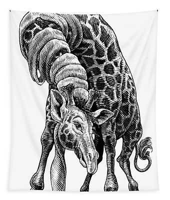 Giraffe Tapestry