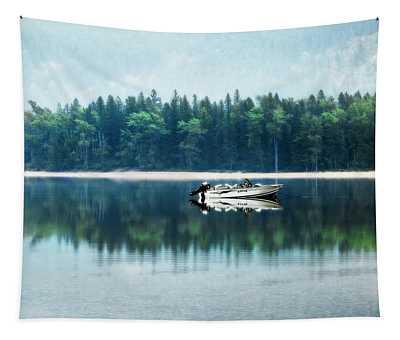 Glacier National Park Lake Reflections Tapestry