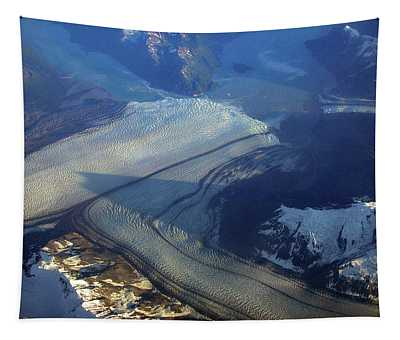 Glaciers Converge Tapestry