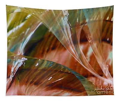 Glass Blowing Dance Tapestry