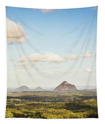 Glass House Minimalism Tapestry