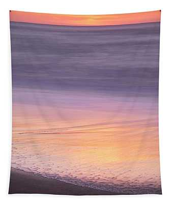 Tapestry featuring the photograph Gleneden Beach Sunset by Whitney Goodey