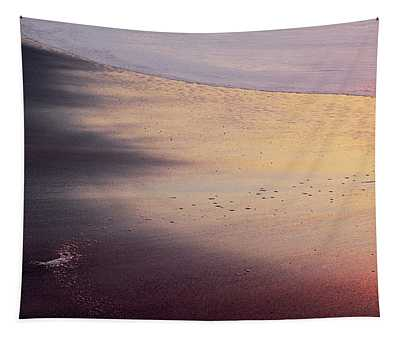 Tapestry featuring the photograph Gleneden Glow by Whitney Goodey