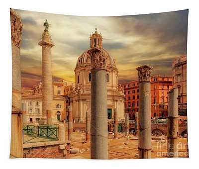 Glories Past And Present,  Rome Tapestry