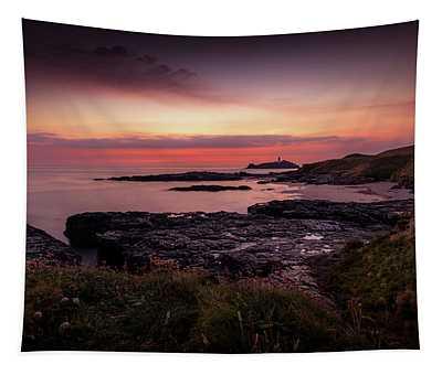 Godrevy Sunset - Cornwall Tapestry