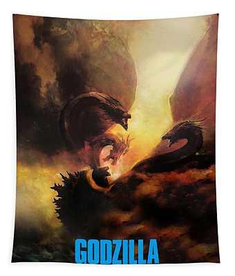 Godzilla II Tapestry