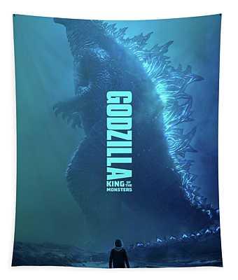 Godzilla O Rei Dos Monstros  Tapestry