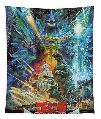 Godzilla Vs Space Godzilla 1994 Tapestry
