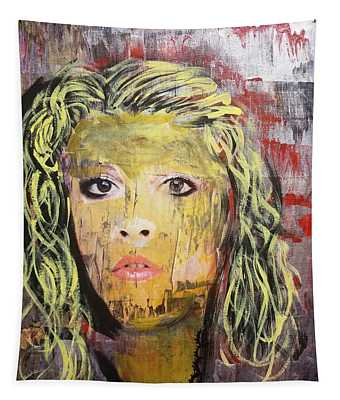 Gold Dust Woman Tapestry