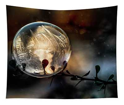 Tapestry featuring the photograph Golden Ball by Jaroslaw Blaminsky