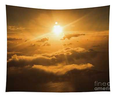 Golden Glow Tapestry