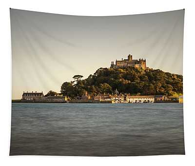 Golden Hour At St Michael's Mount Tapestry