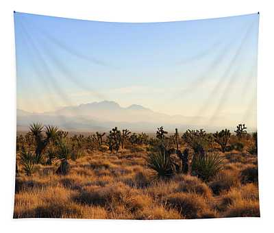 Golden Hour In Mojave Tapestry