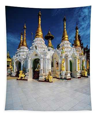 Golden Spires Tapestry