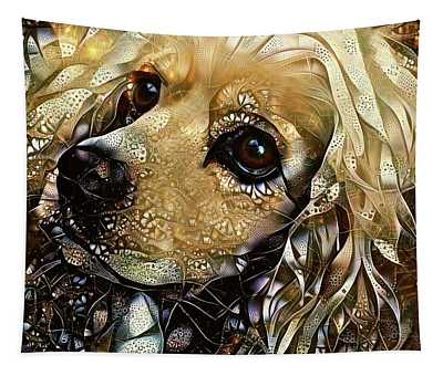 Goldie The Cocker Spaniel Tapestry