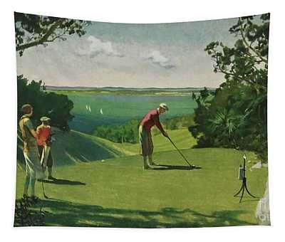 Golf 1938 Tapestry