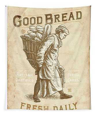 Good Bread Tapestry
