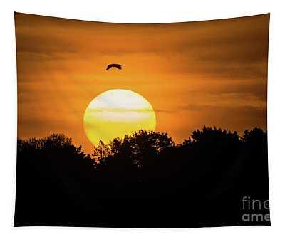 Good Friday Sunrise Tapestry