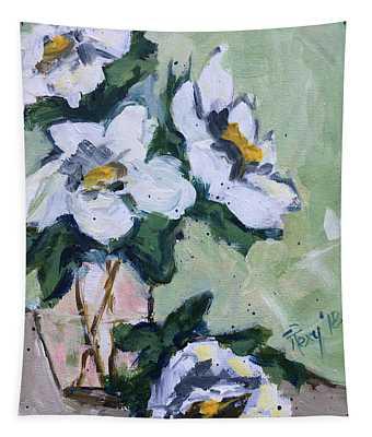 Good Morning Gardenias Tapestry