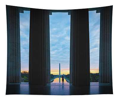 Good Morning Wshington Tapestry