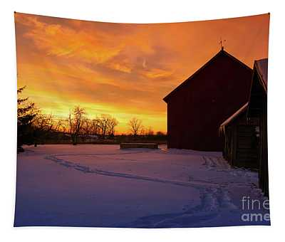 Goodnight Farm Tapestry