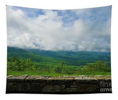 Gorgeous Blue Ridge Overlook Tapestry