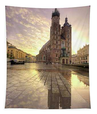 Gothic Church Tapestry