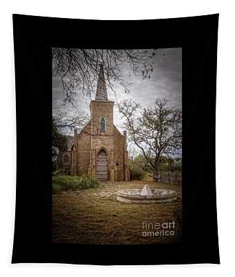 Gothic Revival Church  Tapestry