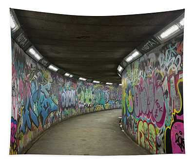 Grafitti Tunnel Tapestry