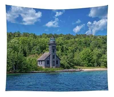 Grand Island East Channel Lighthouse Tapestry