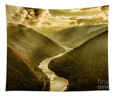 Grandview Morning Light Tapestry