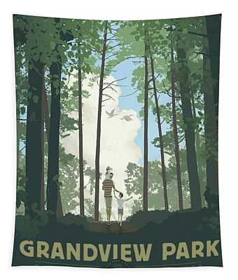 Grandview Park Tapestry