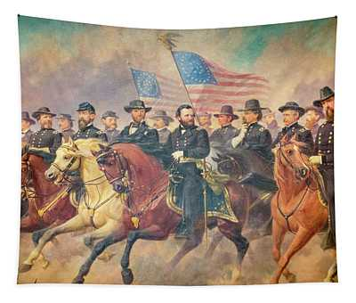 Grant And His Generals Balling Tapestry