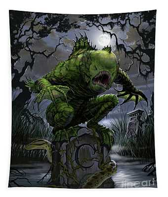 Graveyard Creature Tapestry