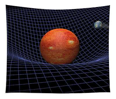 Gravity Well Tapestry