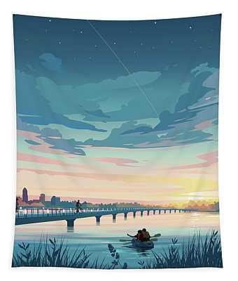 Grays Lake Tapestry