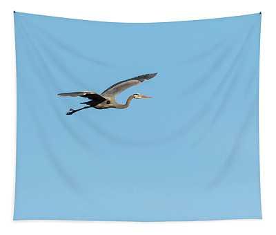 Great Blue Heron 2018-4 Tapestry
