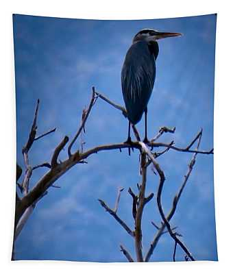 Great Blue Heron 3 Tapestry