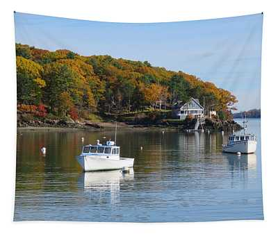 Great Diamond Island Maine Tapestry